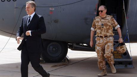 Tony Blair arrives in Baghdad, 19 May 2007 © Stefan Rousseau