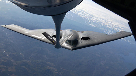 The U.S. Air Force B-2 bomber © Jeff T. Green