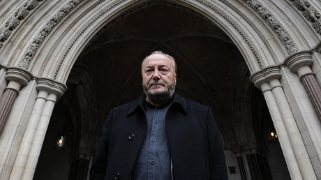 Politician George Galloway. ©Carl Court