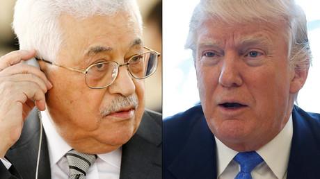 Palestinian President Mahmoud Abbas and U.S. President Donald Trump ©Reuters