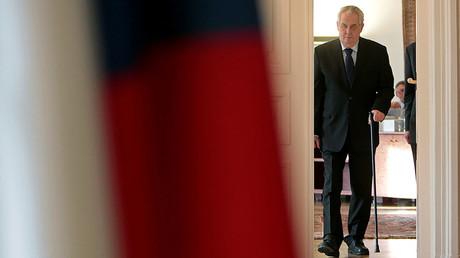 Czech President Milos Zeman © David W Cerny