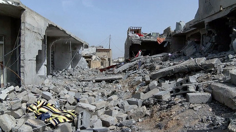 Ruins of a house following an airstrike in Mosul, Iraq © Ruptly