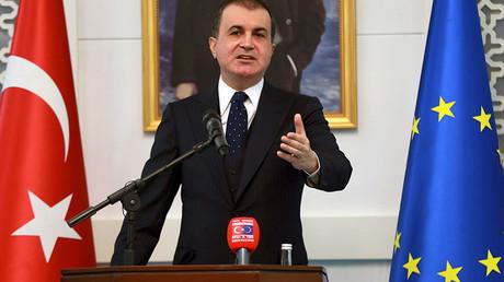 Turkey's EU Minister Omer Celik © Adem Altan