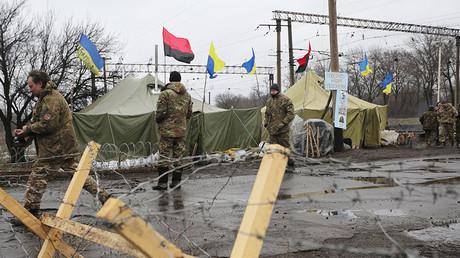 Kiev halts all transport links with rebel-held E. Ukraine