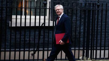 Britain's Secretary of State for Leaving the EU David Davis. ©Peter Nicholls