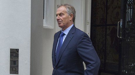 Former British Prime Minister Tony Blair. © SOLO / Global Look Press via ZUMA Press