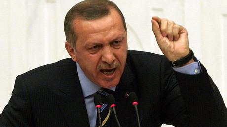 Turkey's President Recep Tayyip Erdogan. ©AFP