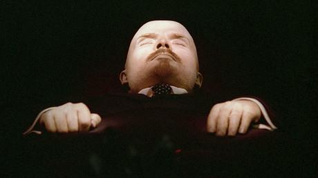 The embalmed body of Vladimir Lenin in the Mausoleum in Red Square. ©Oleg Lastochkin