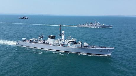 FILE PHOTO: NATO Navy ships, Black sea. © Impact Press Group