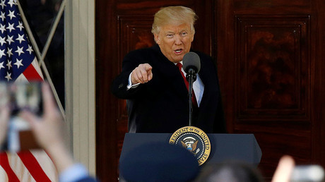 U.S. President Donald Trump © Jonathan Ernst