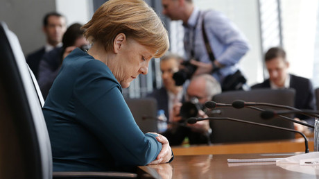 German Chancellor Angela Merkel © Fabrizio Bensch / Reuters