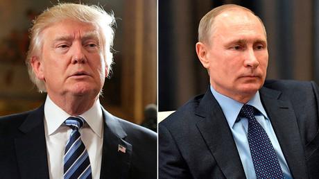 U.S. President Donald Trump (L) and Russian President Vladimir Putin © Reuters / Sputnik
