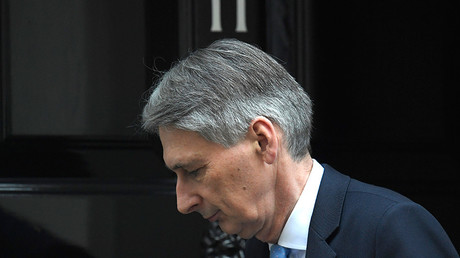 Britain's Chancellor of the Exchequer Philip Hammond © Toby Melville