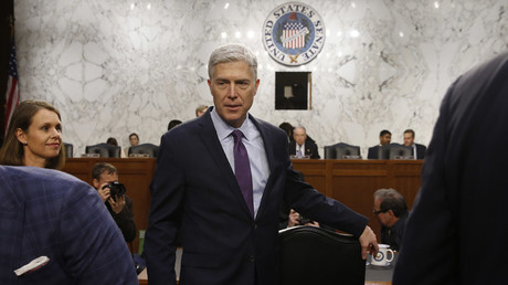 Supreme Court nominee judge Gorsuch © Jonathan Ernst