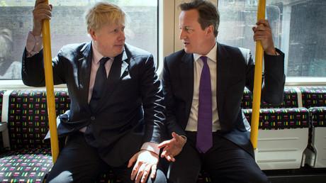 Boris Johnson and David Cameron © Stefan Rousseau