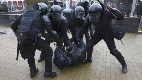 Several dozen arrested at unauthorized opposition protest in Minsk (PHOTOS, VIDEOS)