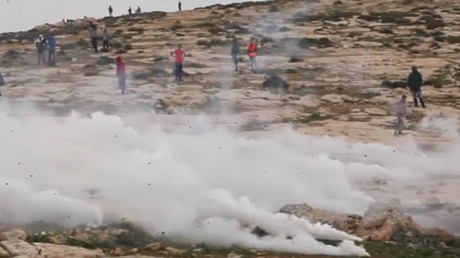 Palestinian anti-settlement protesters clash with IDF, at least 12 injured as military opens fire