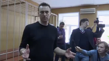 Navalny found guilty of organizing opposition rallies 'resulting in violation of public order'
