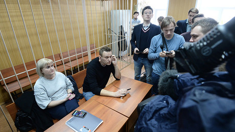 Navalny fined $350 for organizing opposition rallies 'resulting in violation of public order'