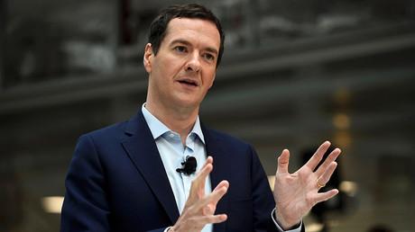 Former Britain's Chancellor George Osborne © Dylan Martinez