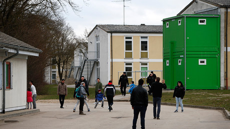 Refugee deportation registry centre in Manching near Ingolstadt, Germany © Michaela Rehle
