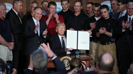The Environmental Protection Agency (EPA) headquarters in Washington, U.S., March 28, 2017. ©Carlos Barria