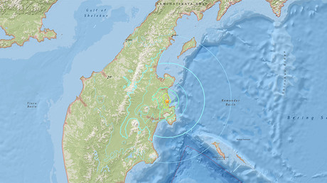6.6 quake off Russia's far eastern Kamchatka Region triggers tsunami warning