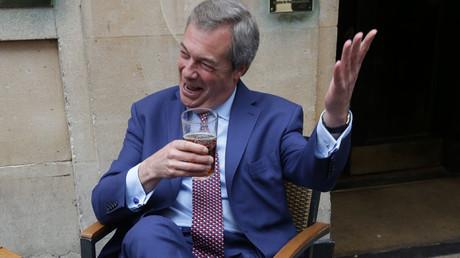 Nigel Farage © Daniel Leal-Olivas