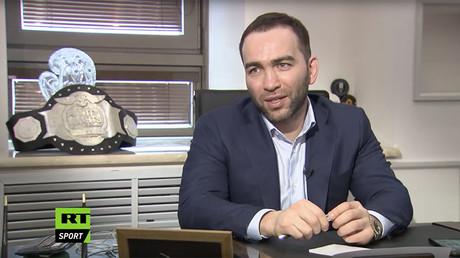 Fight Nights Global president Kamil Gadzhiev