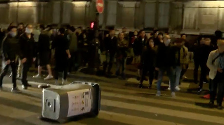 Paris police clash with anti-brutality protesters for 3rd night (WATCH LIVE)