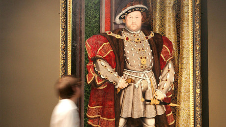 British monarch Henry VIII © Toby Melville