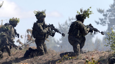 FILE PHOTO: NATO military exercise in Adazi, Latvia, © Ints Kalnins