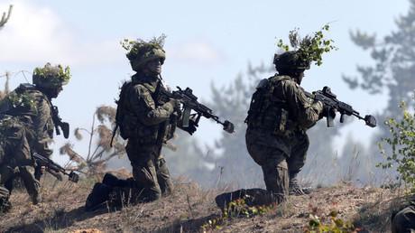 FILE PHOTO: NATO military exercise in Adazi, Latvia, © Ints Kalnins