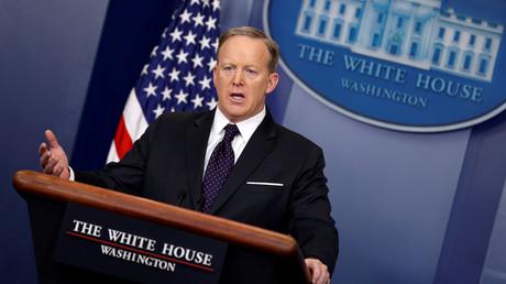 White House spokesman Sean Spicer holds news briefing