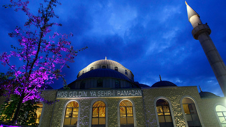 The Merkez mosque  in Duisburg, Germany © Ina Fassbender