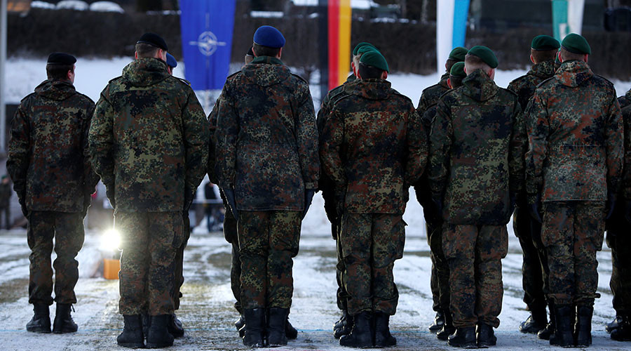 'NATO calls Russia an aggressor, at the same time Russia finds itself surrounded by NATO troops'