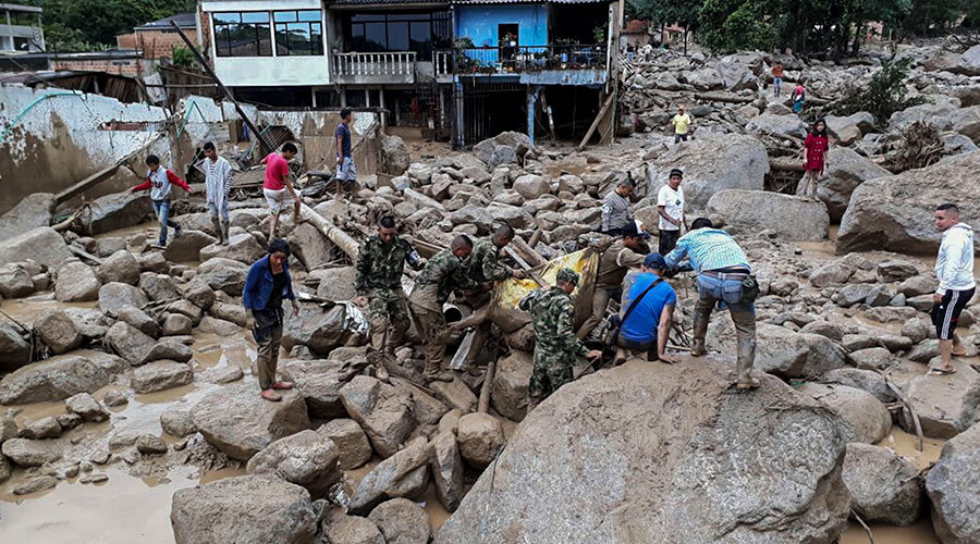 234 killed, 400+ injured or missing in Colombia mudslide – Red Cross (PHOTOS, VIDEOS)