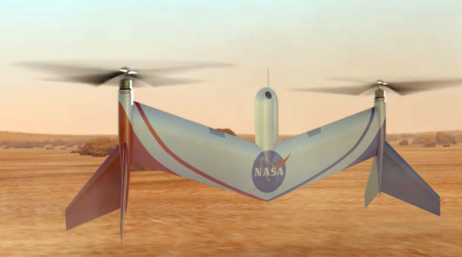 NASA's new Mars drone to scout for human habitation sites (VIDEO)