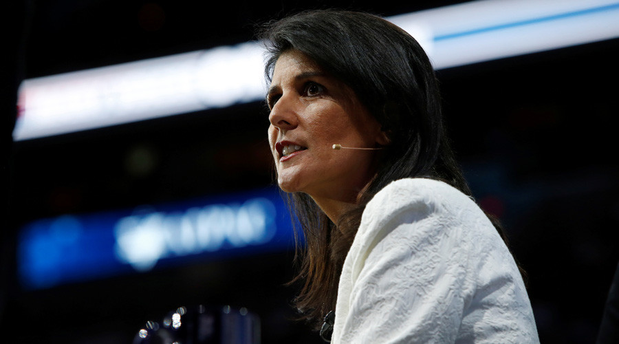 'Trump not stopping me from beating up on Russia' – UN Ambassador Haley
