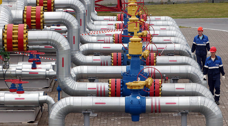 Increased Russian gas exports to Europe