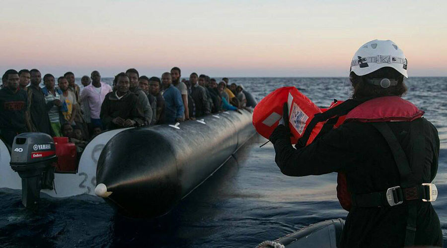 Nothing will stop refugees crossing Mediterranean to flee poverty – rescue NGO
