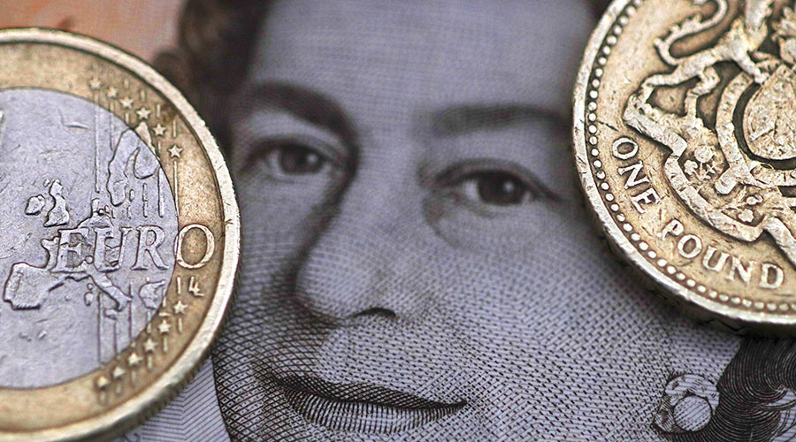 Central banks ditching euro for Sterling