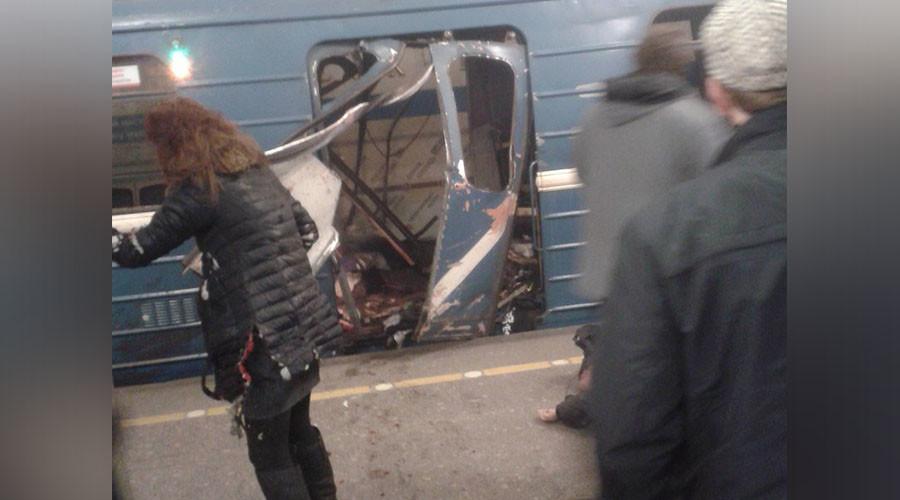 St. Petersburg Metro blast