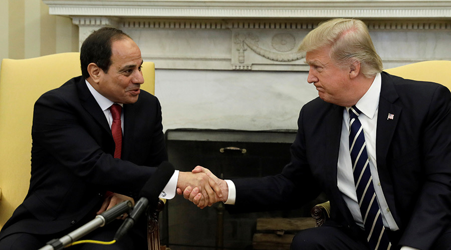 Trump & el-Sisi praise each other, promise 'strong support' for battling terrorism