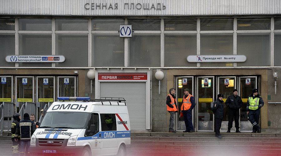 Russian citizen of Kyrgyz origin 'possibly behind' St. Petersburg bombing – Kyrgyz security official