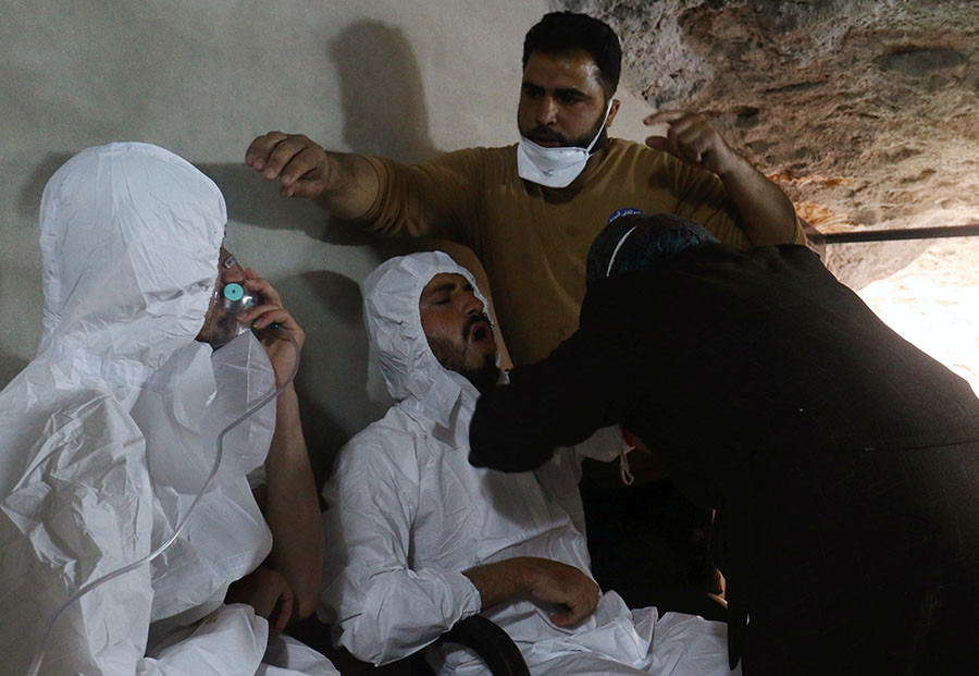 Syrian chemical attack crime against humanity, says Italy