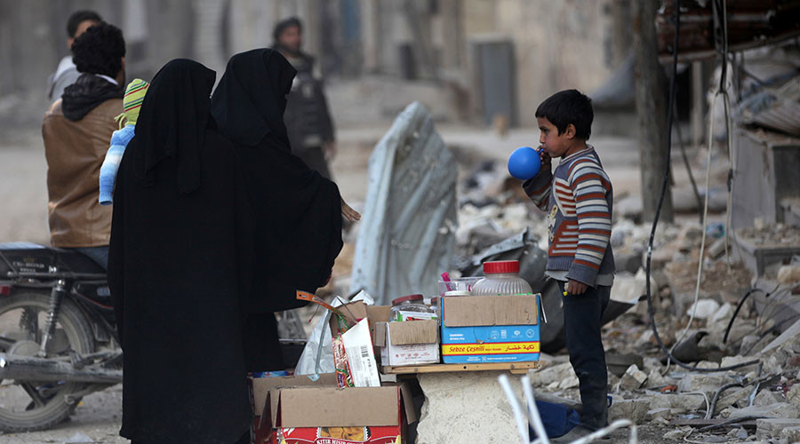 Western sanctions against Syria block humanitarian relief