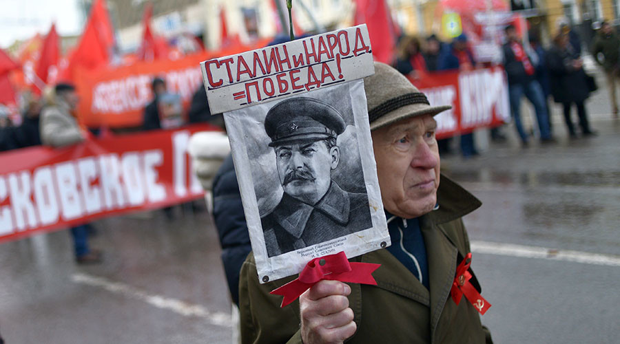 Stalin's popularity in Russia triples since 1990