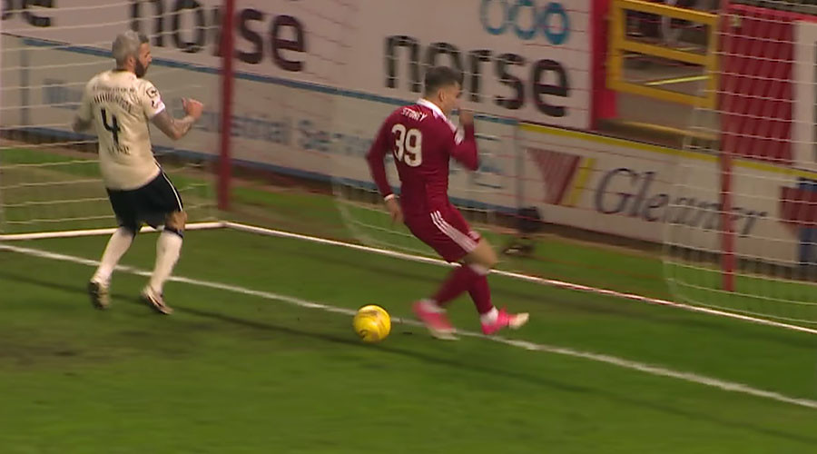 Miss of the season? Footballer in Scotland fails to score from inches out (VIDEO)