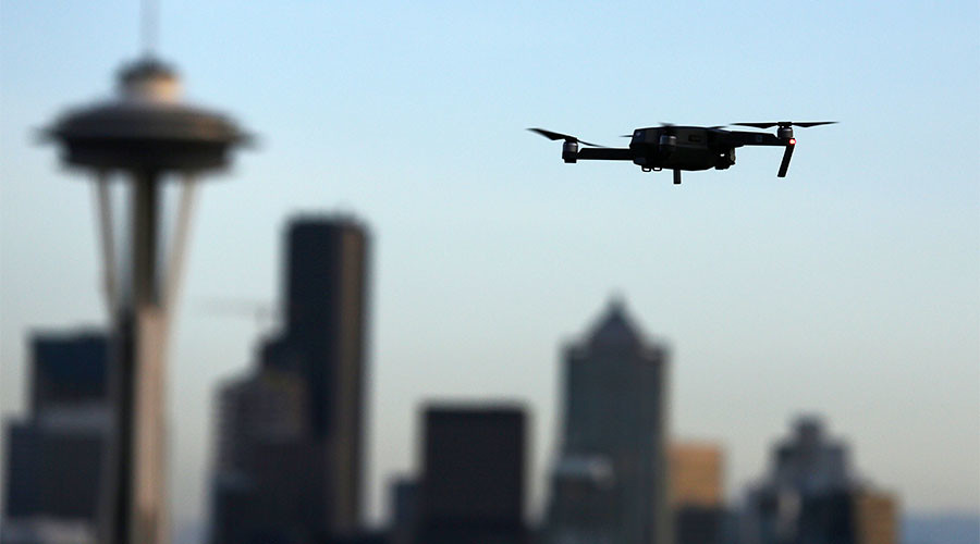 Surveillance drones to be used for first time at Boston Marathon